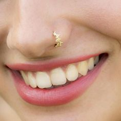 Nose Ring, Unique Nose Ring, Nose Piercing, 925 Sterling Silver OR Gold Bohemian Nose Ring, Gold Tragus, Piercing Nostril, Nose Piercing Jewelry, Cartilage Earrings, Ear Piercings, Unique Nose Rings, Gold Nose Rings, Silver Nose Ring, Indian Nose Ring