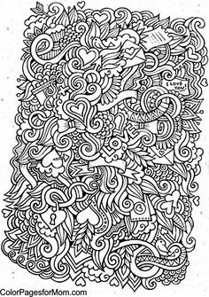 Doodles 22 Coloring Page