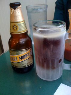 Dark beer....Negra Modelo...my all time favorite beer.