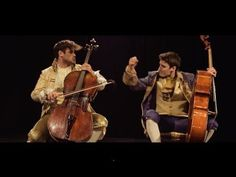 2CELLOS - Thunderstruck [OFFICIAL VIDEO] - YouTube ... (( O...M...Gosh ...This is so Great! My Ex was into this kind of music...I hated the lyrics to most of it, But appreciated the music itself and the vocals. These guys are Fantastic! ))