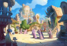 Ancient Ravenskye City by ~bear65 on deviantART