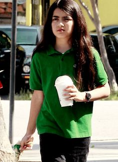 Blanket Jackson ♥.micheal Jackson's child,Love Blanket's Long Healthy Thick REAL Hair :D!!!!