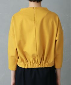 UNITED TOKYO WOMENS(ユナイテッドトウキョウウィメンズ)のポンチバックギャザープルオーバー(Tシャツ/カットソー)|詳細画像