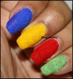 Crazy Polishes: Challenge: Day 9 - Rainbow Nails
