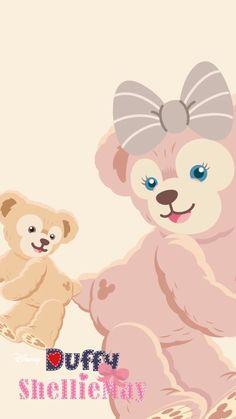 Hd Wallpapers For Mobile, Cute Wallpapers, Duffy The Disney Bear, Disney Phone Wallpaper, Cute Paintings, Iphone Wallpaper Tumblr Aesthetic, Kawaii, Disney Family, Graphic Patterns