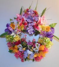 Easter Wreath, Handcrafted and Cleverly Designed, Cross, Dove, Spring Flowers