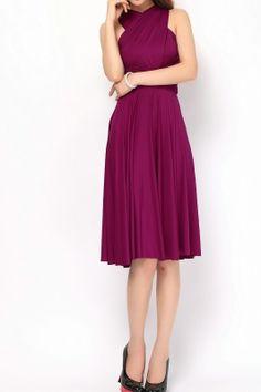 Berry short infinity dress bridesmaids dresses [st-44] - $49.50 : Infinity Dress | Convertible Bridesmaid Dresses Online, TinnaInfinityDress