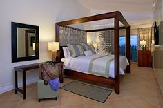 Junior Ocean View Suite with concierge service and added amenities #stlucia