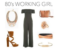 Spring 2017 Trends: 80's Working Girl #spring #trends #fashion #styleboard #ootd #stelladotstyle