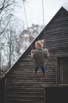 barn swings