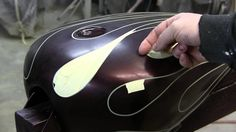 How to Airbrush Ghost flames by James Scott