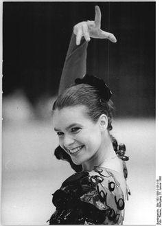 Katarina Witt - German figure skater