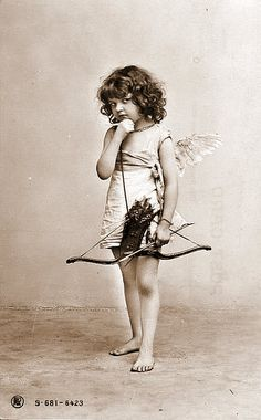 antique vintage picture post card children kids girl boy