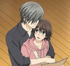 Usami Akihiko x Misaki Takahashi / Junjou Romantica - BL Manga Anime Couples Manga, Anime Guys, Manga Anime, Manga Couple, Manga Love, Anime Love, Junjou Romantica Usagi, Manhwa, Anime Screenshots