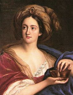 Hortensia Mancini, the sister of Maria Mancini, became a mistress of Louis and Charles II, the King of England. Four of her granddaughters followed her destiny and became the mistresses of Louis XV, The King of France. But this is another story!