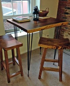Custom High Bar Dining Table - transitional - dining tables - boise - by Impact Imports