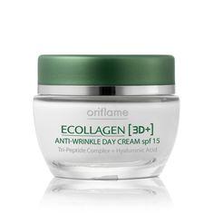 Ecollagen [3D+] Anti-Wrinkle Day Cream SPF 15 #oriflame