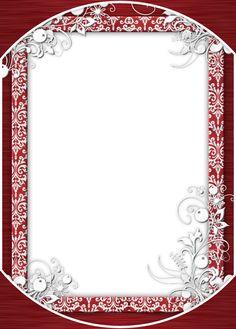 red frame png | retro_xmas_frame_marijja.png - Download this image