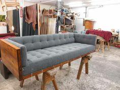 Vintage Milo Baughman Rosewood Case Sofa - $6800