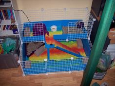 AJ's Expanded Cage