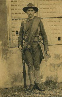 [#14/18] Soldat américain, collection Patrice Lamy 2/2 © DR.