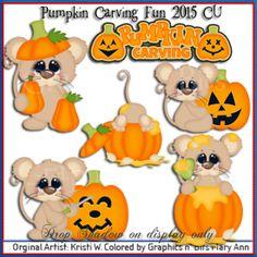Pumpkin Carving Fun 2015 CU