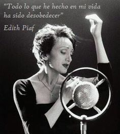 Piaf..With her heart and soul.