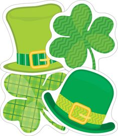 St. Patrick's Day Mini Cut-Outs Product Image