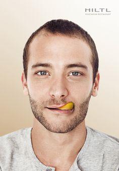 Hiltl Vegetarian Restaurant: Tongue, Man