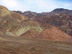 #Artist's Drive, #Death Valley
