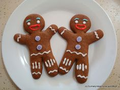Merry Christmas-Eve Eve! This Christmas season, I decided to have an Baking Adventure with Gingy Gingerbread Cookies!    Gingy from Shrek   ...