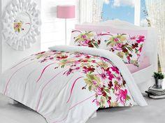 Pościel satynowa Valentini Bianco Limited Edition TUAL FUKSJA, 160x200 + 2x 70x80 cm oraz 220x200 + 2x70x80 cm, 100% bawełna.