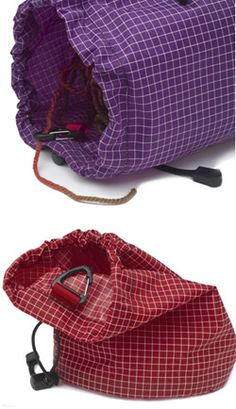 These small knitting projects bags are so perfect!  I need one...or three!