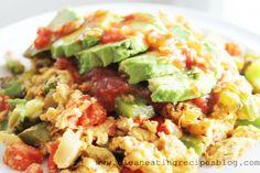 Clean Eating Breakfast – Easy Southwestern Eggs | Clean Eating Recipes - Clean Eating Diet Plan Made Easy