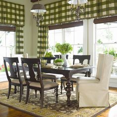 Paula Deen by Universal Furniture: Paula's Rectangular Leg Table and 2 Wing Side Chairs #tobacco #casualdining