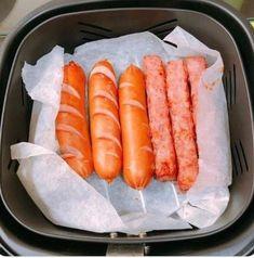 에어프라이어 레시피/에어프라이어 활용팁 : 네이버 블로그 Hot Dog Buns, Hot Dogs, Yummy Food, Bread, Cooking, Ethnic Recipes, Foods, Recipes, Kitchen