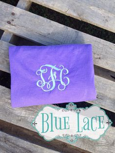 Monogrammed T-shirts on Etsy, $15.00