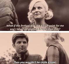 I love that Leslie found someone who recognizes her awesomeness Parks And Recreation Ben, Parks And Rec Quotes, Office Theme Song, Parcs And Rec, Leslie And Ben, Ben Wyatt, Parks Department, Leslie Knope, All The Things Meme