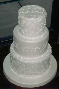 White Vine Cake #092