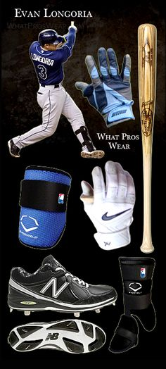Tampa Bay Rays - Evan Longoria. See what the Pro's are wearing.