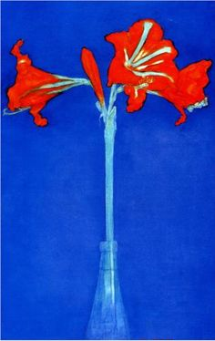 Piet Mondrian - amaryllis