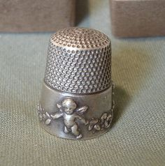 I want this antique thimble! by tracy loves pink, via Flickr