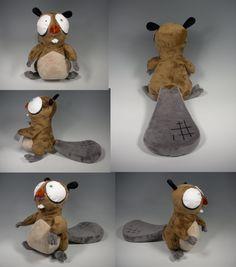Gilford the Beaver Plush by WhittyKitty.deviantart.com on @DeviantArt