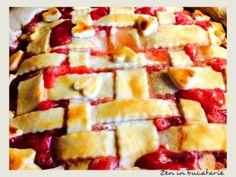 Tarta cu rubarba si capsuni Lemon Grass, Mango, Pie, Cooking, Desserts, Food, Pies, Manga, Torte