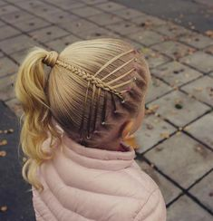 The Low Chignon is a modern bridal hair messy bun which appears surprisingly wonderful on bridesmaid Baby Girl Hairstyles, Kids Braided Hairstyles, Princess Hairstyles, Ponytail Hairstyles, Pretty Hairstyles, Wedding Hairstyles, Updo Hairstyle, Wedding Updo, Girl Hair Dos