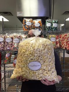 It's FREE POPCORN FRIDAY AGAIN! Pin this photo TODAY (02/05/16) to be entered to win this 5 Gallon bag of theater popcorn! You may also enter on Facebook Twitter or Instagram! #lisaspassionforpopcorn #discoveryourpassion  #freepopcornfriday Free Popcorn, Photo Today, Theater, Friday, Facebook, Bag, Sweet, Instagram, Products
