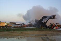 Payne Stewart Plane Crash in a field in South Dakota. Compare to 9/11 crash in Pennsylvania.