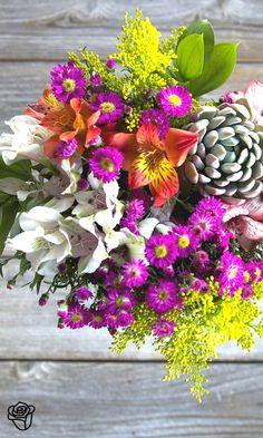 I love having fresh flowers in my home.