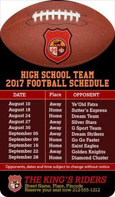 Sports Schedule Magnet