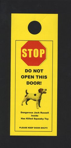 Dangerous Inside Jack Russell Terrier Inside   Has by KnobNots